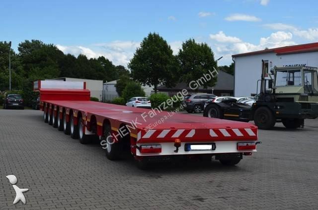 Schenk 10 axles semitrailer extendable 10S.1T.8N (7+3) semi-trailer