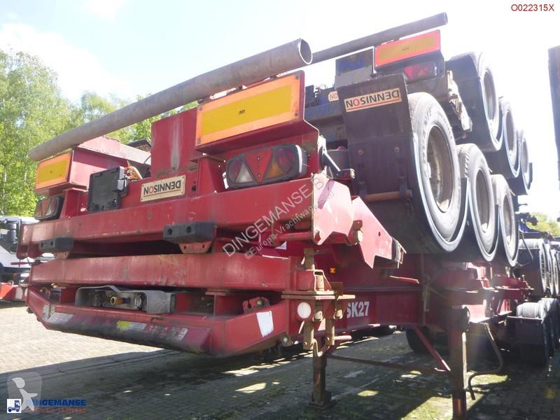 Semi remorque Dennison Stack - 4 x container trailer 30-40-45 ft
