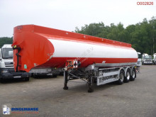 semi reboque nc Fuel tank alu 42 m3 / 6 comp + counter
