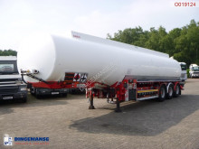 Cobo Fuel tank alu 45.7 m3 / 6 comp + pump/counter semi-trailer