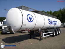 Parcisa chemical tanker semi-trailer