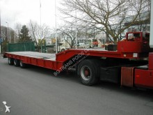 Leveques heavy equipment transport semi-trailer