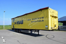Stas Walkingfloor Schubbodenauflieger 90m³, INT 10357 semi-trailer
