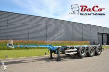 trailer Pacton T3-010 - SAF AXLES - 1 LIFT AXLE - DRUM BRAKES -