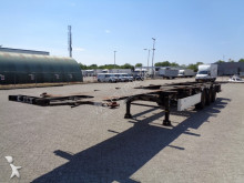 Krone SDC 27, SAF, 2 X 20FT, 30FT, 40FT, 3 Achsen, NL Trailer, TOP!! semi-trailer