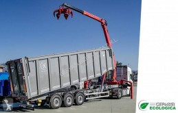 new scrap dumper semi-trailer