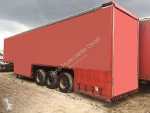 Ackermann beverage delivery flatbed semi-trailer