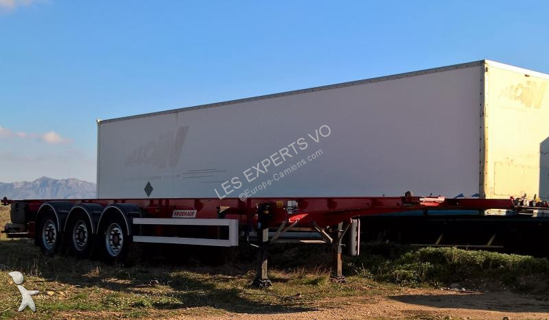 Fruehauf FIXE 40/45 PIEDS CONT ET CAISSE MOBILE semi-trailer