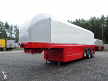 Langendorf panel carrier flatbed semi-trailer