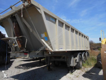 used half-pipe semi-trailer