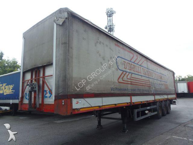 Cardi 39S3SPB SPONDE ALZA ABBASSA TETTO FISSO TRASPORTO ACQUA STERZANTE - AE 46038 semi-trailer