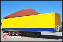 Krone Koffer, Textil, Doppselstock mit Balken, 235.123 Kilometer Auflieger