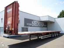 Van Hool 3x ROR Axle, Flat Trailer semi-trailer