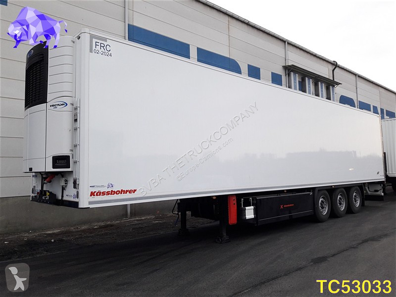 Kässbohrer SRI Frigo semi-trailer