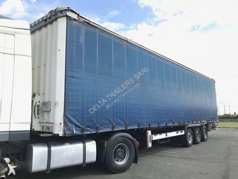Krone 2,87m hauteur de passage - semi-trailer
