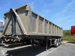 Trailor half-pipe semi-trailer