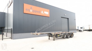 полуремарке D-TEC 45FT HC multi, 3x extendable, 1 liftaxle, BPW, NL-chassis