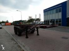 trailer LAG 20 FT, Steel suspension