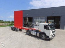 trailer Fliegl Semi-remorque Porte containers extensible