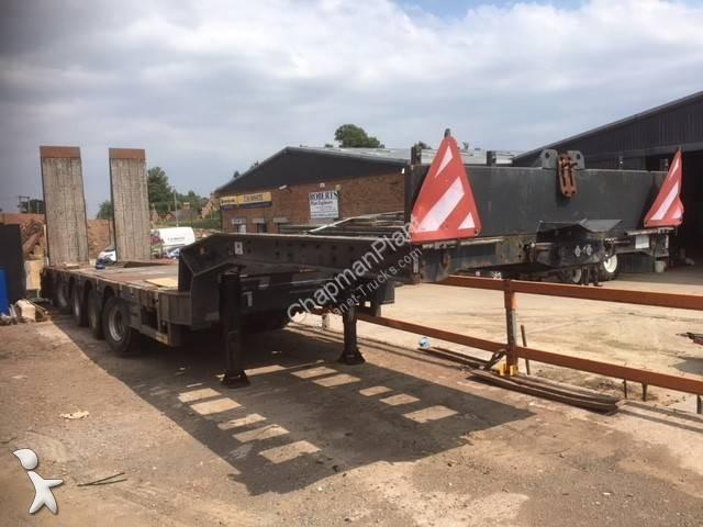 Faymonville STN-5AU heavy equipment transport
