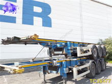 Van Hool 30ft Tankchassis Container Transport semi-trailer