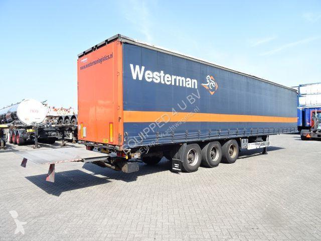 Semi remorque Krone Discbrakes, Taillift 2.000kg D\'Hollandia, 2.80m internal height