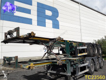 damaged container semi-trailer