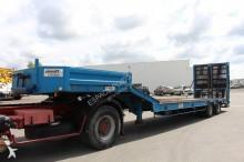 Louault heavy equipment transport semi-trailer