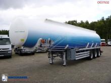 Feldbinder Fuel tank alu 42 m3 / 6 comp + pump semi-trailer