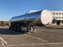damaged tanker semi-trailer