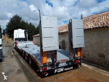 FGM heavy equipment transport semi-trailer