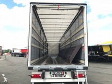 Schmitz Cargobull reel carrier tautliner semi-trailer