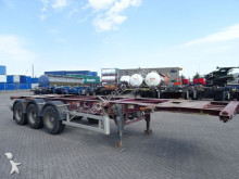 Desot 20/30 FT chassis, ROR+drumbrakes semi-trailer