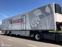 Floor refrigerated semi-trailer