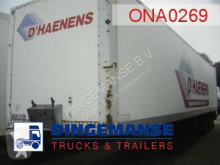 semi remorque Fruehauf closed box trailer 81.2 m3
