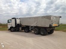 used construction dump semi-trailer