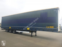 trailer Krone Mega Schiebeplanen Sattelauflieger SDP 27 eLHB3-CS P