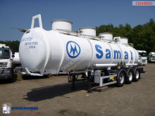 Magyar Chemical ACID tank inox 24.5 m3 / 1 comp semi-trailer