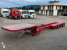 Broshuis E-2190/27 / LOW LOADER TRAILOR / EXTENDIBLE / heavy equipment transport