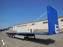 used straw carrier flatbed semi-trailer