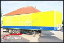 Krone Koffer, Textil, Doppselstock mit Balken, semi-trailer