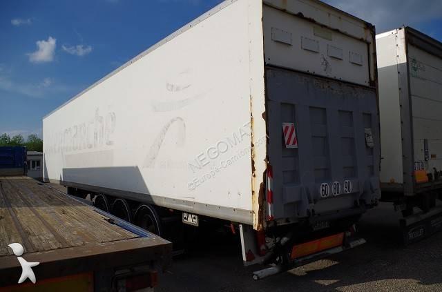 Trouillet SREM 3 Essieux Fourgon Hayon semi-trailer