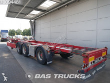 Renders ROC 16.28 2x20 - 1x30 - 1x40 - 1x45 Liftachse Ausziehbar Extendable semi-trailer