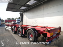 Renders R0C 12-27CC X-steering 2x20-1x30-1x40ft. Liftachse semi-trailer