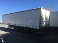 used beverage delivery flatbed semi-trailer
