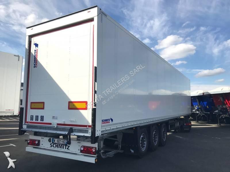 Voir les photos Semi remorque Schmitz Cargobull Porte rideau FIT - 2 ess relevables - NEUF et disponible sur parc