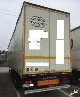 Lecitrailer TAUTLINER - 33 PALETTES DEBACHE VITE semi-trailer