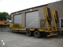 Trouillet heavy equipment transport semi-trailer