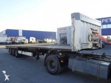 Krone Plateau droit 3 essieux , Susp AIR semi-trailer