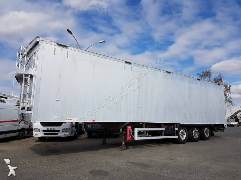 Benalu FOND MOUVANT renforcé 90m3 semi-trailer